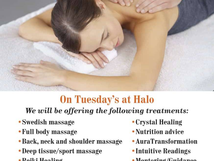 Tuesdays Treatments at Halo